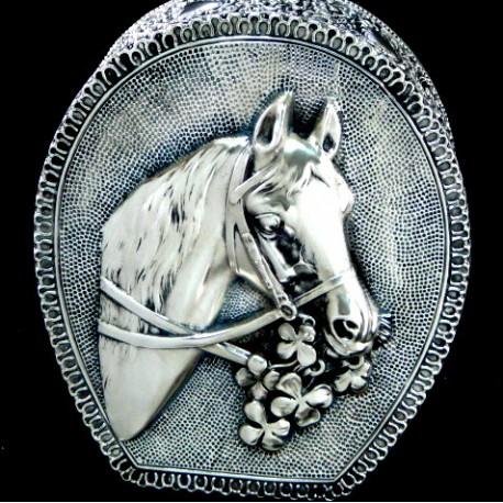 Koń - szkatułka z koniem i podkową - na komunię, urodziny