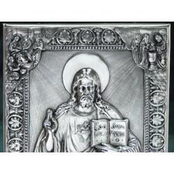 Obrazek z Jezusem Chrystusem - pamiątka Pierwszej Komunii Świętej