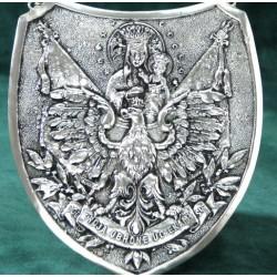Ryngraf na chrzciny - posrebrzany - piękna pamiątka Chrztu lub Komunii Św.